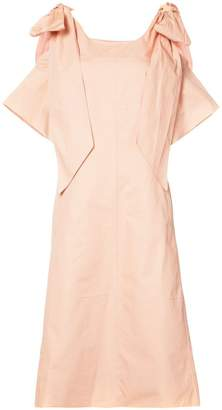 Chloé ribbon sleeve shift dress