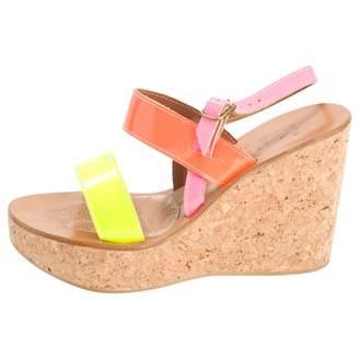 K. Jacques Multicolour Leather Sandals