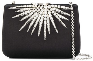 Giambattista Valli crystal embellished clutch bag