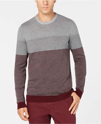 Tasso Elba Men's Imola Colorblocked Supima Cotton Sweater