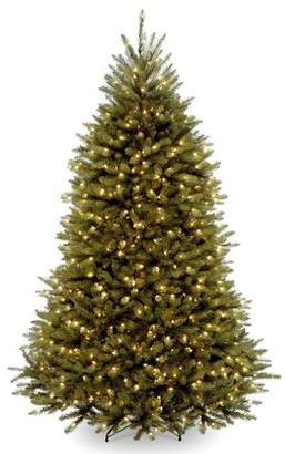 Dunhill Darby Home Co 6' Green Fir Artificial Christmas Tree with 600 Clear Lights with Stand