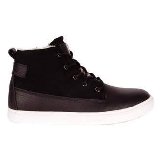Rugged Gear New Cup Joe Fur Leather Mid Trainers