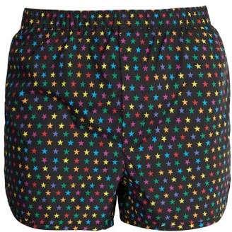 Valentino Star Print Swim Shorts - Mens - Multi