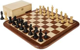 Uber Games Alexander Knight Ebony Chess Set