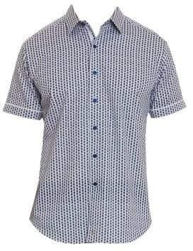 Robert Graham Westward Geo Short-Sleeve Shirt