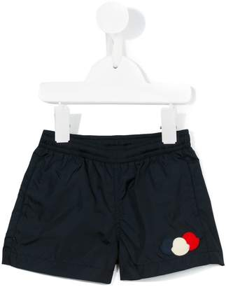 Moncler appliqué swim shorts