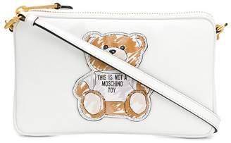 Moschino Teddy Bear logo shoulder bag