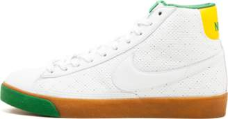 Nike Womens Blazer Mid 73 White/Varsity Maize