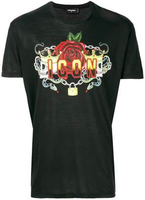 DSQUARED2 ICON logo T-shirt