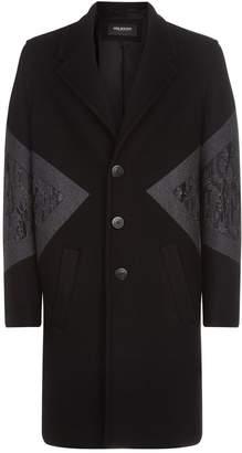 Neil Barrett Slim Fit Wool Coat