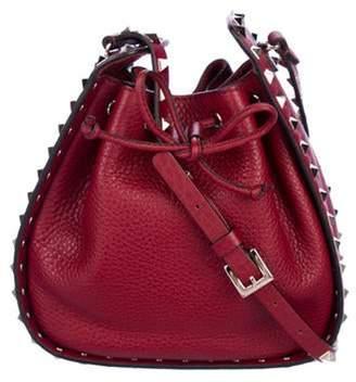 Valentino Small Rockstud Drawstring Crossbody Bag Red Small Rockstud Drawstring Crossbody Bag