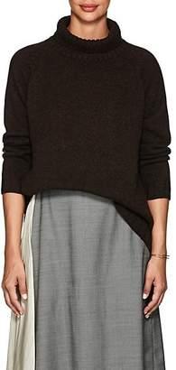 Barneys New York Women's Cashmere Turtleneck Sweater - Dk. brown