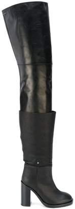 473f783ea52 MM6 MAISON MARGIELA Black Women s Boots - ShopStyle