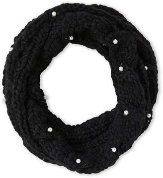 Betsey Johnson Cable Knit Cowl Scarf