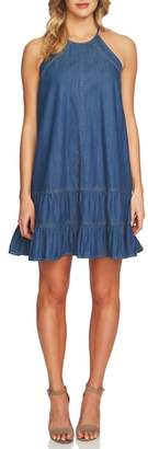 CeCe Denim Halter Dress