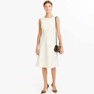 A-line dress in double-serge wool $198 thestylecure.com
