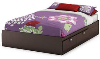 SOUTH SHORE Spark Full Mates Bed with Four Drawers