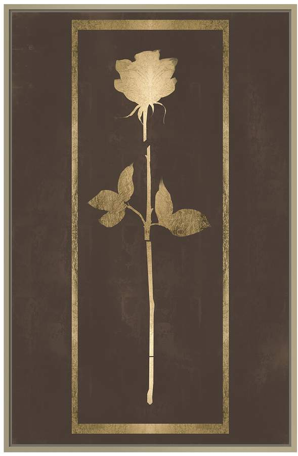 Jonathan Bass Studio Cut Rose IV (Framed Canvas)