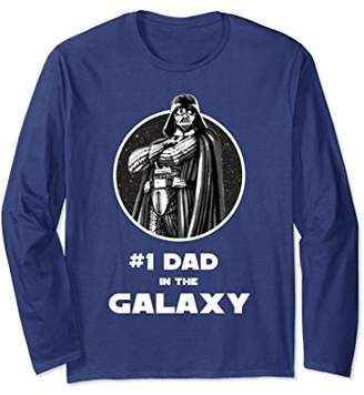 Star Wars Darth Vader Dad In The Galaxy Long Sleeve Tee