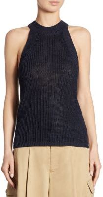 Polo Ralph Lauren Sleeveless Linen Sweater $145 thestylecure.com