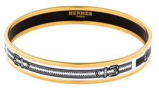 Hermes Harnais des Presidents Enamel Bangle