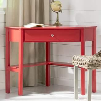 Andover Mills Suri Wood Corner Writing Desk