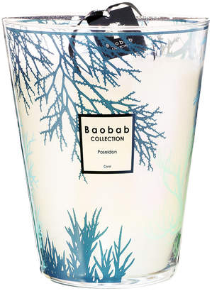 Baobab Collection Coral Scented Candle - Poseidon - 24cm