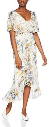 Warehouse Women's Trailing Floral Midi Party Dress