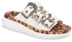 Marc Jacobs Emerson Faux Fur Sport Sandal