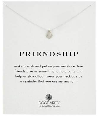 Dogeared Friendship Anchor Reminder Necklace Necklace