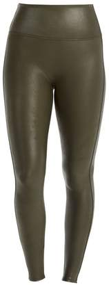 Spanx Faux Leather Shaping Leggings
