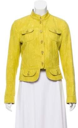 Etro Matelassé Button-Up Jacket