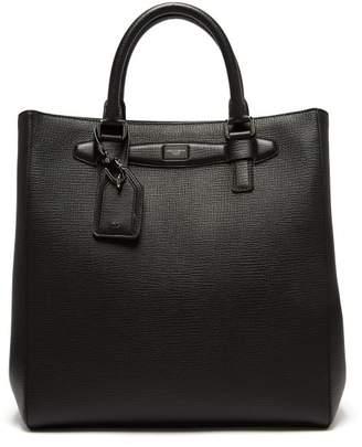 Dolce & Gabbana - Large Leather Tote Bag - Mens - Black