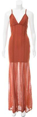 Torn By Ronny Kobo Lace Maxi Dress w/ Tags
