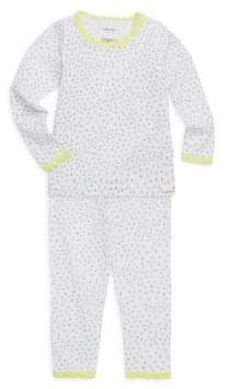 Calvin Klein Little Girl's& Girl's Two-Piece Cotton Pajama Set
