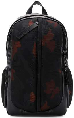 Emporio Armani camouflage print backpack