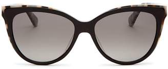 Kate Spade Women's Daesha Polarized Cat Eye Sunglasses, 56mm