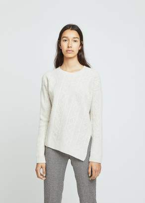 Pringle Overwashed Cable Rib Sweater
