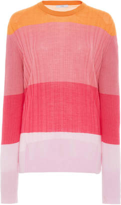 Tome Colorblock Knit Top