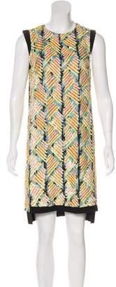 J. Mendel Silk Sequined Dress