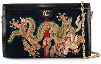 Gucci Ophidia embroidered shoulder bag