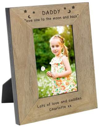 6d49aa6445ac BabyFish Personalised Photo Frame For Daddy