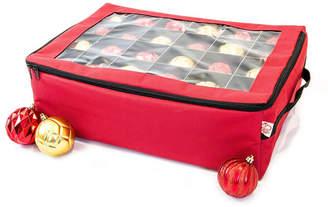Santa Bag Two Tray Ornament Storage Bag