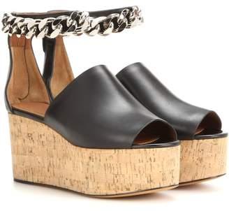 Givenchy Embellished open-toe platform sandals