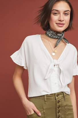 0f3a1ad0 Tie Front Blouse - ShopStyle UK