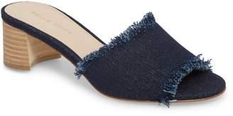 Pelle Moda Rea Block Heel Slide Sandal
