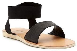 Cocobelle Luella Snake-Embossed Sandal