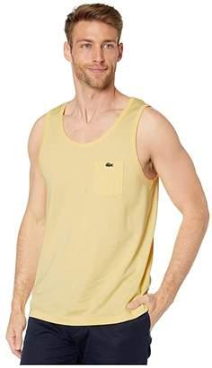 Lacoste Tank Heavy Jersey Solid T-Shirt