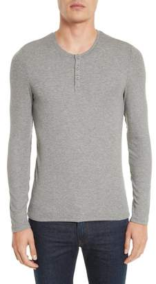 ATM Anthony Thomas Melillo Long Sleeve Rib Henley
