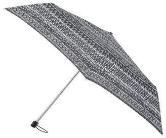 totes Miniflat Tribal Triangles Print Umbrella (3 Section)
